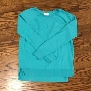 Old Navy light teal sweater - size extra small